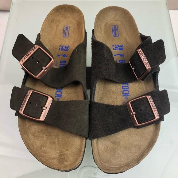 59176e9423b Birkenstock Shoes - Birkenstock Arizona Soft footbed narrow sandals